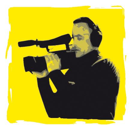 image d'un cameraman