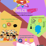 Cliquez sur l'affiche pour imprimer les dates des rendez-vous avec Mélodie et Stéphane de la MLC pour construire le projet social ensemble.